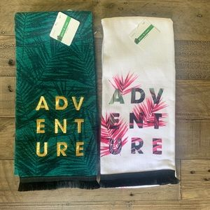 Kitchen hand towel ADVENTURE ~ set of two ~